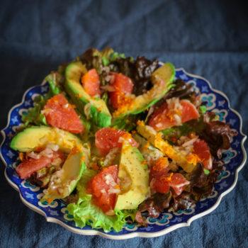 Салат с грейпом