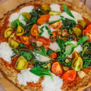 Пицца из капусты