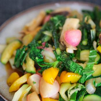 Стир фрай из овощей