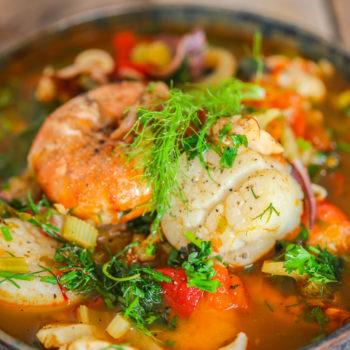 сезонные сентябрь рыбный суп